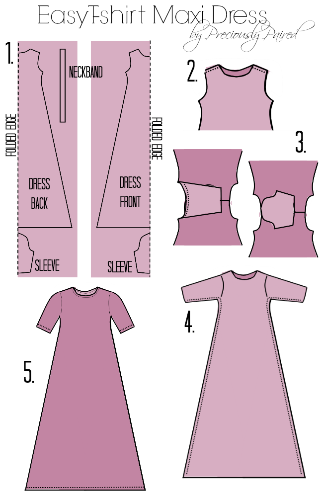 Easy to sew maxi dress